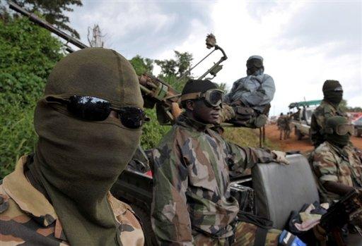Rebelles Côte d'Ivoire