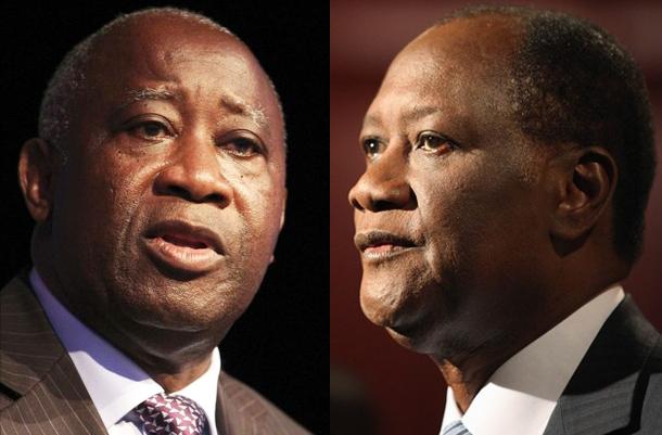 Gbagbo vainqueur de Ouattara