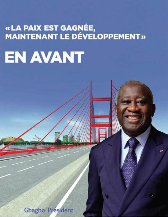 Laurent Gbagbo Président de la Côte d'Ivoire