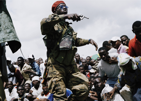Soldat rebelle en Côte d'Ivoire