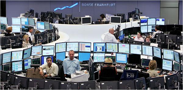 Bourse de Francfort