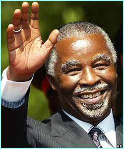 thabo mbeki Thabo Mbeki rejette l'option militaire comme solution à la crise ivoirienne