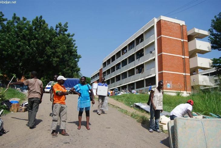 Les Frci occupent les chambres des Cités universitaires d'Abobo et de la Riviera 2