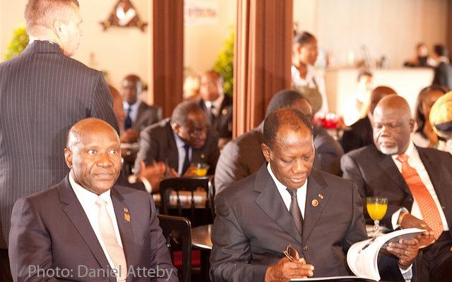 Ouattara et Duncan à Londres