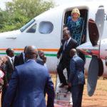 Pluie diluvienne: Ouattara regagne Abidjan