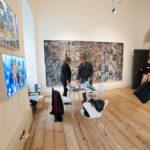 Galerie Cécile Fakhoury à Londres pendant la foire 1:54 African Contemporary Art Fair