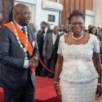 Laurent Gbagbo et Simone Ehivet Gbagbo en 2011