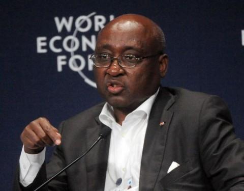Le président du groupe de la BAD, Donald Kaberuka à Abidjan