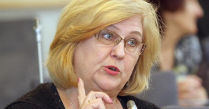 Ministre de la Santé de Lituanie Rimante Šalaševičiūtė