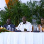 Ouattara promet 6000 milliards FCFA d'investissements à la région de San-Pedro