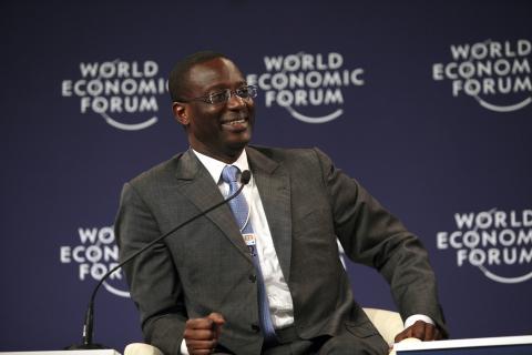 L'ivoirien Tidjane Thiam futur patron du Crédit Suisse