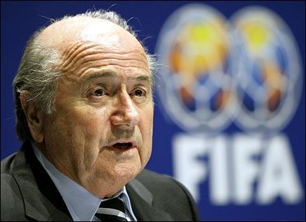 Blatter réélu à la tête de la Fédération Internationale de Football