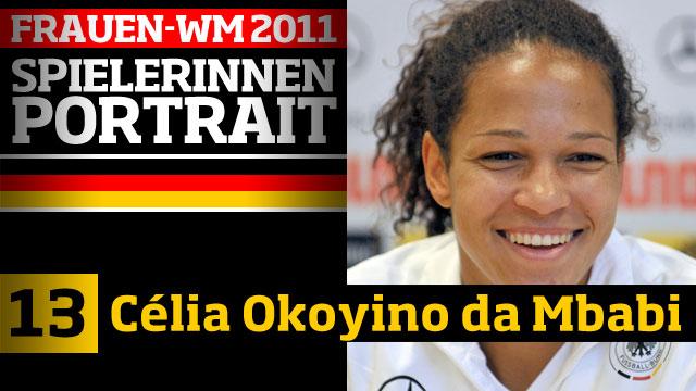 Célia Šašić, née Okoyino da Mbabi