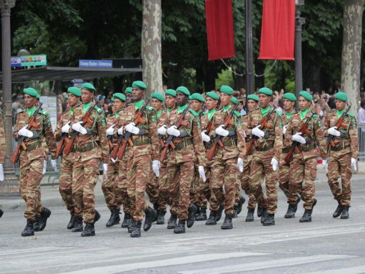 force militaire mauritanienne en Côte d'Ivoire