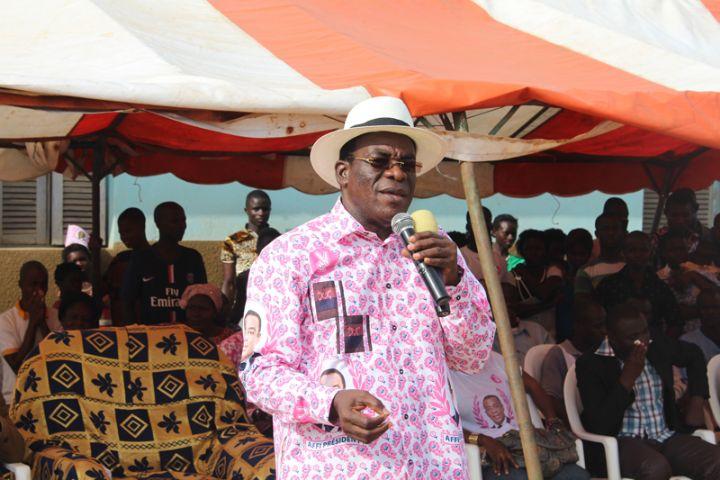 Pascal Affi N'Guessan était à Sankadiokro