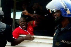 Samba David de la CNC enlevé par des hommes en armes