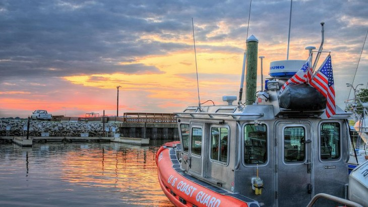 Us Coast Guard Defender Class Boat