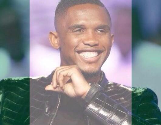 Eto'o l'Africain - sa photo de profil sur FaceBook aux couleurs du Nigéria