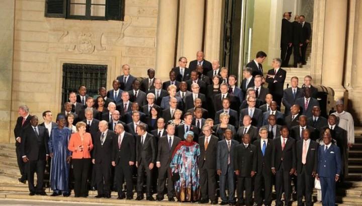 Sommet de La Valette à Malte sur la Migration