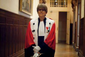 La juge SABINE KHERIS