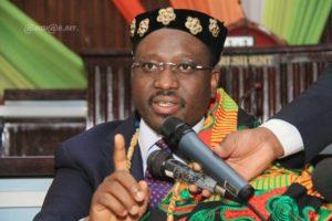 Le président de l'Assemblée nationale de Côte d'Ivoire, Guillaume Soro