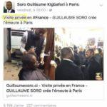 Ouattara obligé de mentir pour voler au secours de Soro Guillaume