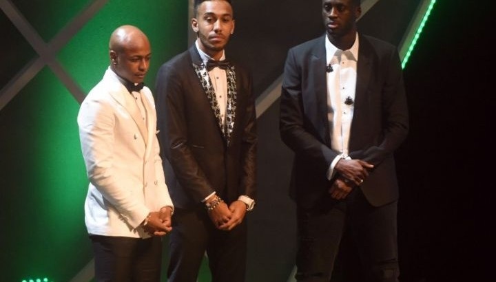 Ballon d`or Africain 2015: Pierre-Emérick Aubameyang décroche le titre