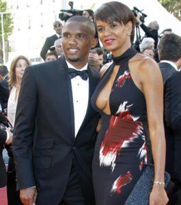 Samuel Eto'o and wife Georgette