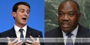 Manuel Valls (PM France) estime qu'Ali Bongo Ondimba (PR Gabon) n'a pas été élu « comme on l'entend »