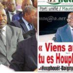 Si nous devons honorer Houphouët-Boigny, c'est à travers le parti qu'il a créé, le Pdci-Rdra