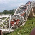 Un pont ferroviaire s'écroule dans le Centre ivoirien au passage d'un train