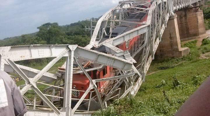 Un pont ferroviaire s'écroule dans le Centre ivoirien