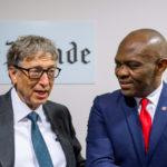 Tony O. Elumelu et Bill Gates au Club de l'Economie