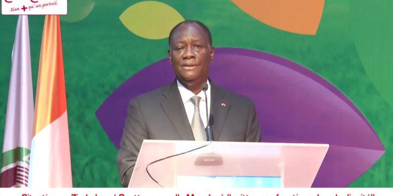 Ouattara appelle Mugabé masque blanc - ivoiriennes au maroc - ivoiriens de l'étrangers