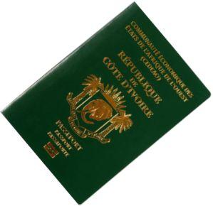 passeport biometrique ivoirien