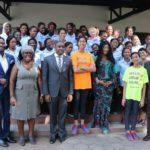 30 ivorian girls begin their journey into the world of film making