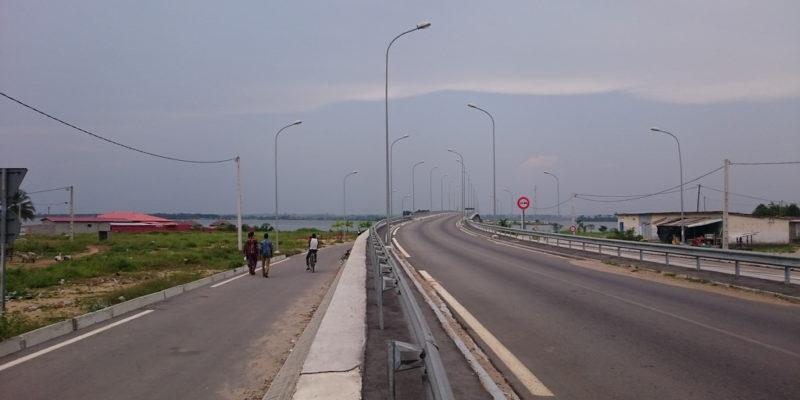 route abidjan - jacqueville