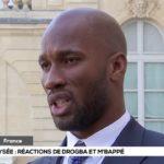 A l'Elysée Drogba et Mbappé se prononcent sur le football africain (vidéo)