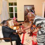 Le couple Bédié à Kumasi